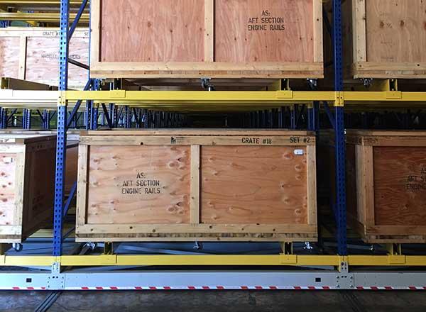 activRAC military crate storage