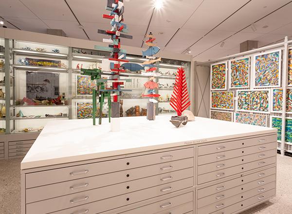 art center facility flexible storage systems