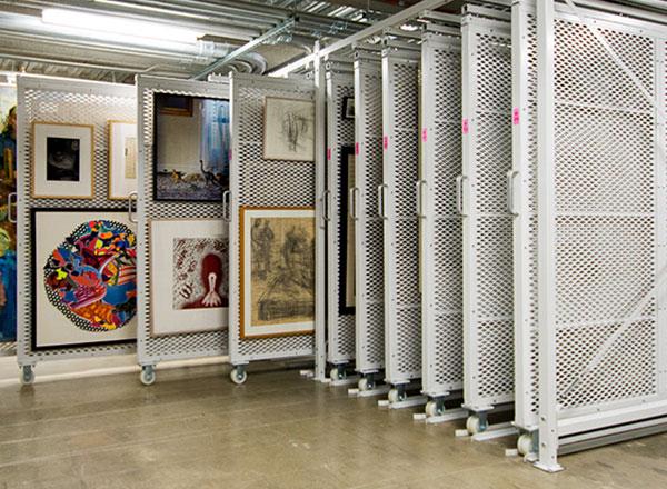 art rack modular mobile collection