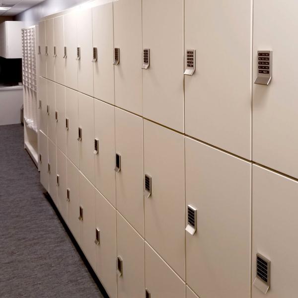 campus health center student secure storage