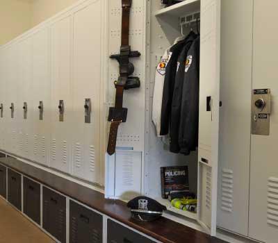 cleaner workplace personal gear lockers