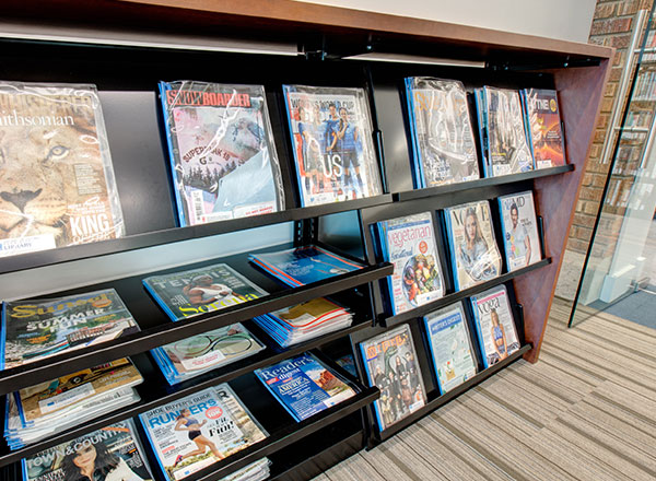 custom shelving solutions accessories