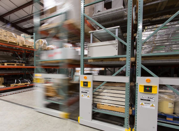electric moveable shelving cycle testing
