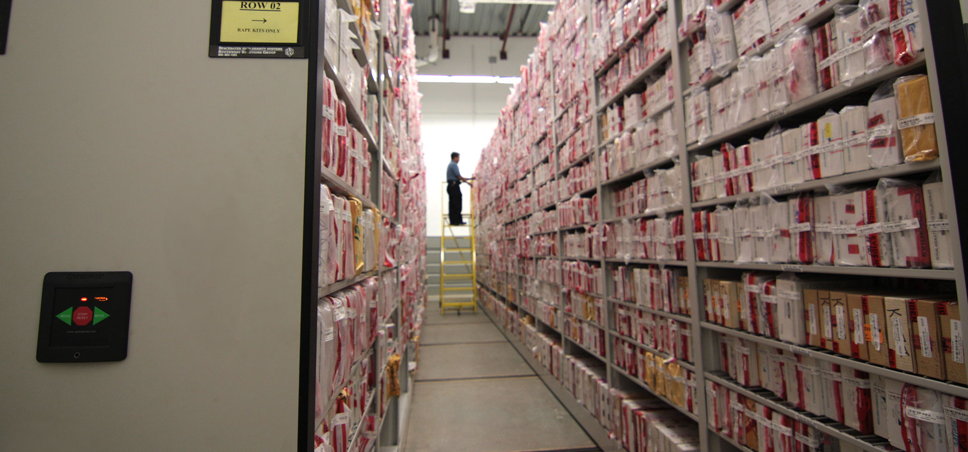 evidence managements - storage for chain of custody