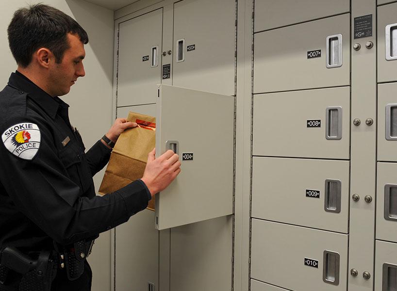 evidence storage secure transfer