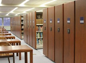 expand library space shelving