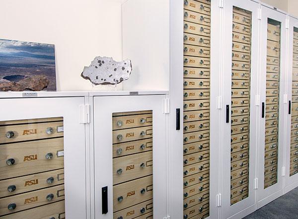 geology museum cabinets heavy-duty specimen storage