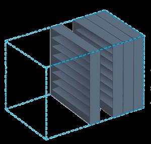 high-density mobile storage system
