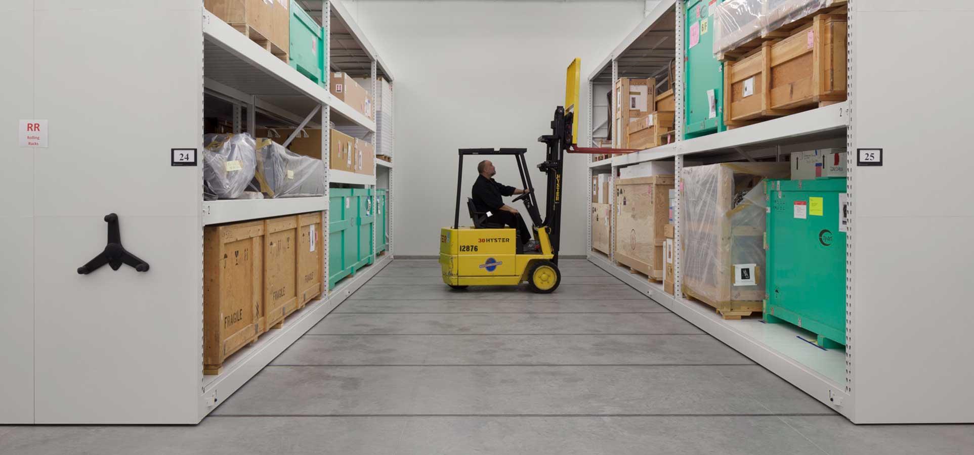high-density mobile storage