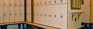 high end spa locker room lockers
