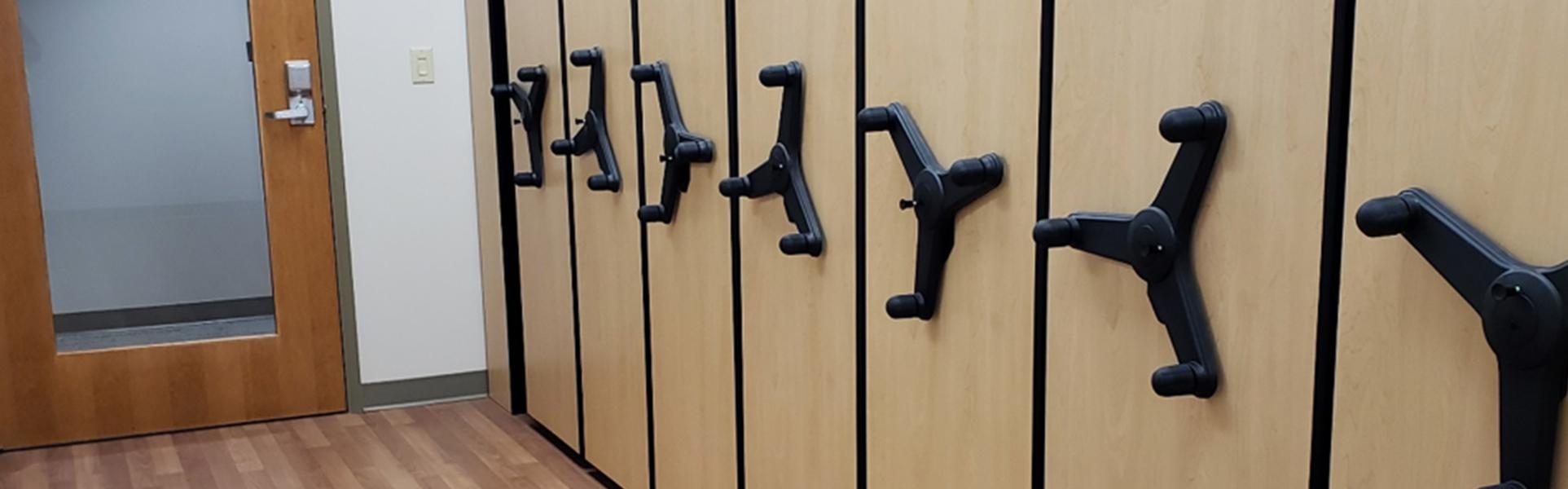 medical supply room storage system