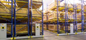military pallet racking that moves