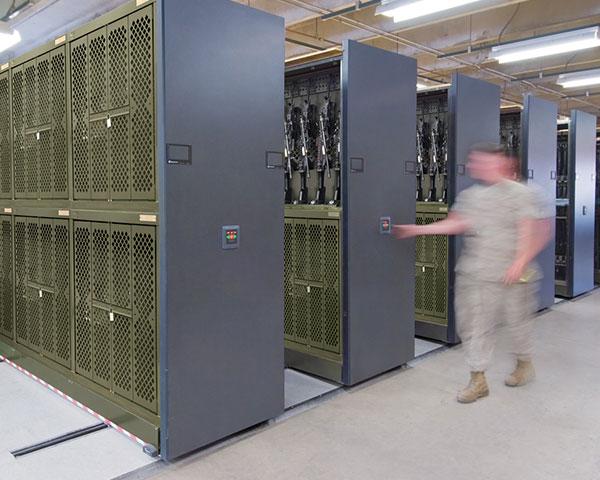Mobile Weapon Rack
