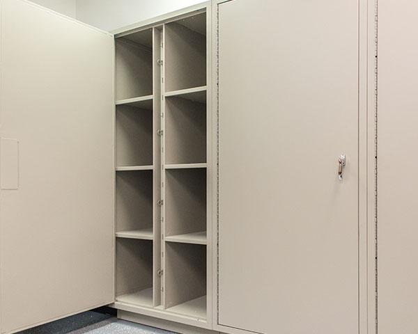 pass-thru locker evidence storage