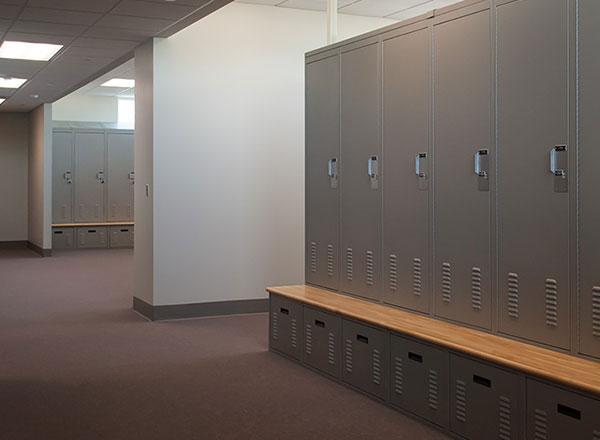 police officer locker room