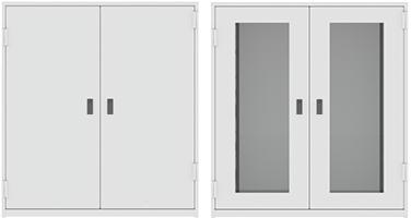 preservation cabinet door options