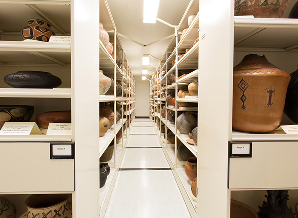 protect museum collection storage