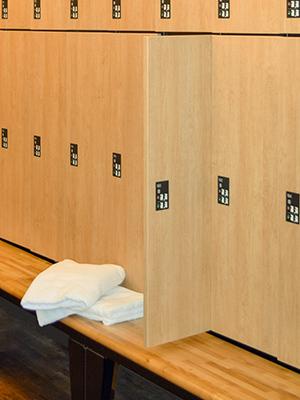 quality locker room customizable lockers