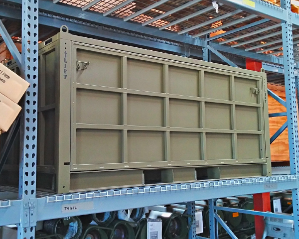 secure reusable transport crate
