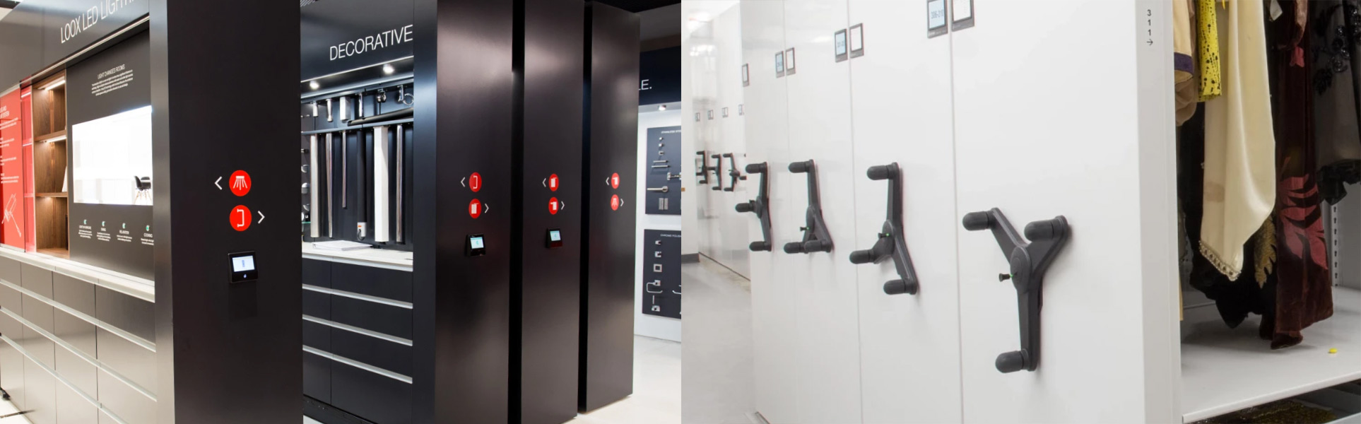 spacesaver electric vs mechanical mobile shelves