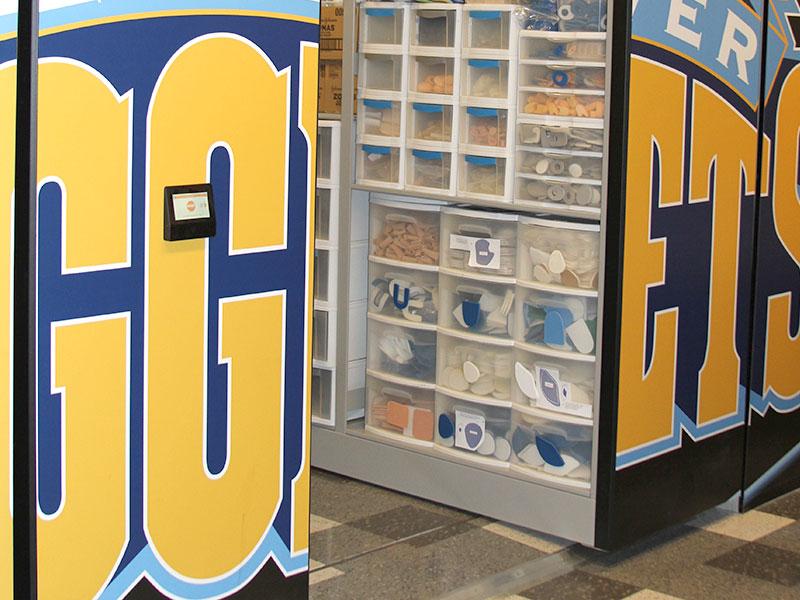 standard high-density mobile shelving sports equipment