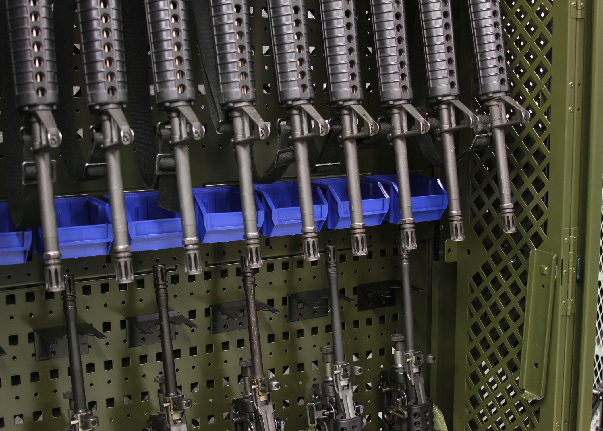 Weapon Rack - Protect Gear